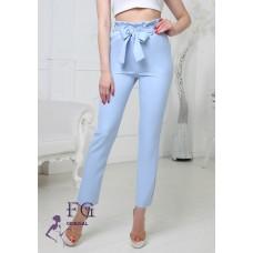 Женские брюки с высокой талией Панни, код 1160