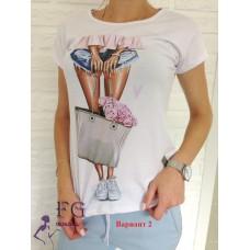 Модная футболка, код 1505