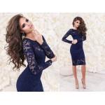 Платье гипюровоеЛюсия, код 3872