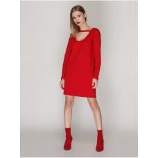 Платье с чокером, код 4052